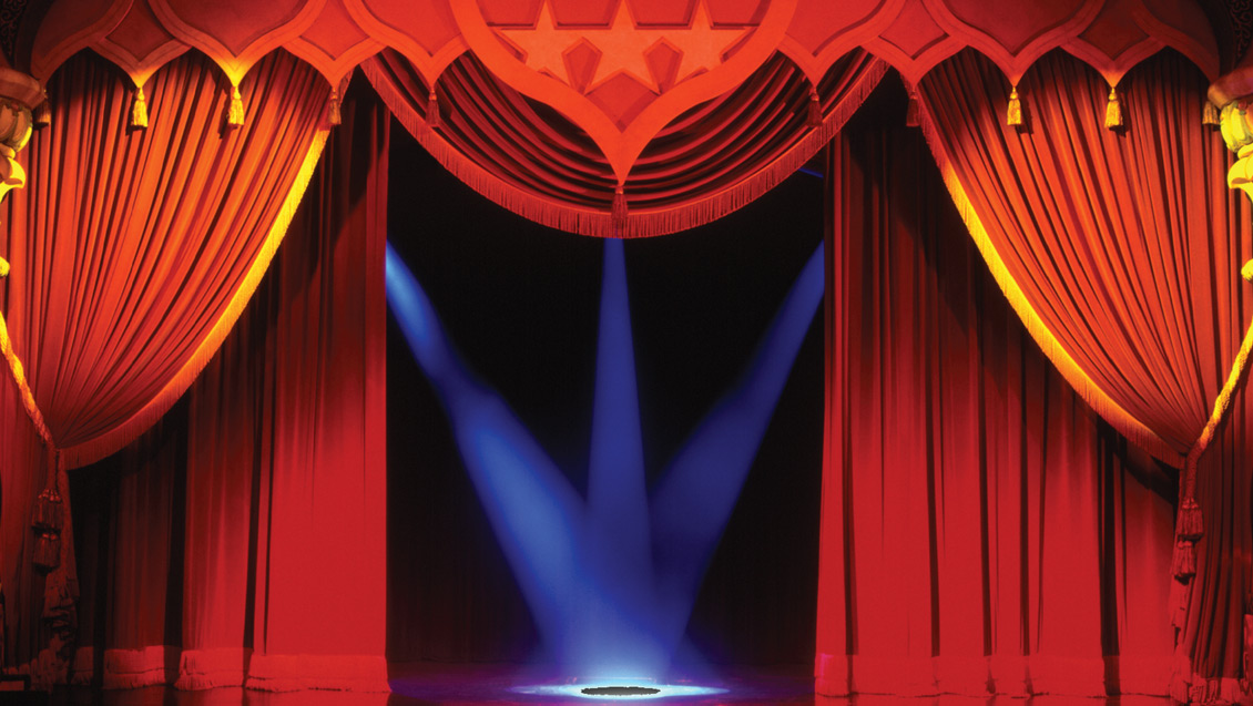 Curtain Up For School Shows